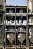 Elevador, silo de grano, unidades, secador de grano fotos de archivo libres de regalías