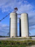 Elevadores de grano Imagenes de archivo
