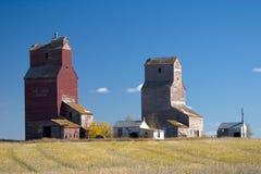 Elevadores de grano de Lepine Fotos de archivo