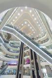 elevadores, vidro e metal Imagem de Stock