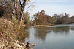 Elevan Punkt-Fluss Lizenzfreies Stockbild