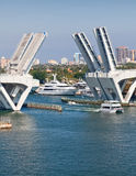 Elevated Bridge in Ft. Lauderdale Stock Images