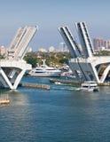 Elevated Bridge in Ft. Lauderdale. Florida Stock Images