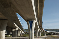 Elevated crossroad Stock Image