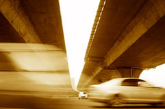 Elevated express way Stock Images