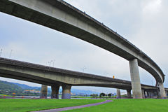 Elevated express way Royalty Free Stock Photo