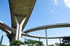 Elevated expressway Stock Photos