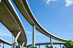 Elevated expressway Royalty Free Stock Photography