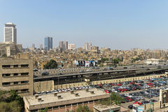 Elevated Expressway Cairo Royalty Free Stock Photography