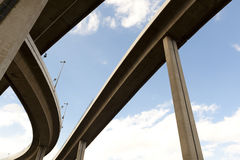 Elevated expressway Stock Images