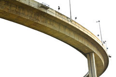 Elevated expressway. Stock Images