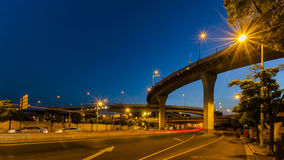 Elevated expressway in shanghai Stock Photos