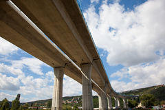 Elevated highway Stock Images