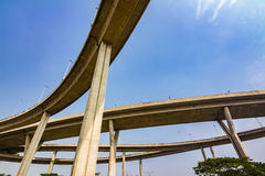 Elevated highway Stock Photography