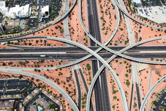 Elevated Interchange Stock Photo