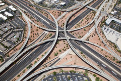 Elevated Interstate Interchange Stock Photos