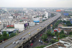 Elevated road. In Bangkok, Thailand Royalty Free Stock Photo