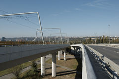 Elevated road Royalty Free Stock Images