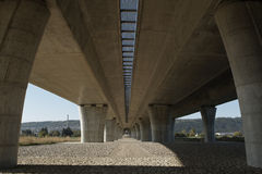 Elevated road Stock Image