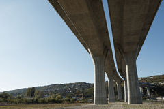 Elevated road Royalty Free Stock Photography