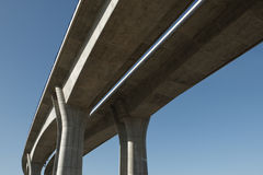 Elevated road Stock Images