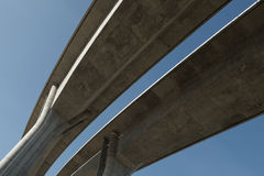 Elevated road Royalty Free Stock Image