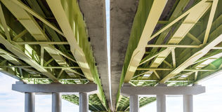 Elevated road from below Royalty Free Stock Images