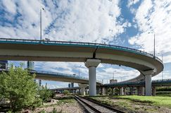 Elevated road Stock Photo