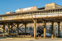 Elevated Track Stock Image