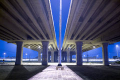 elevated traffic highway Royalty Free Stock Photography
