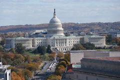 Elevated View Of Capitol Building Stock Images
