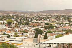 Elevated view of Chihuahua City, Mexico. Stock Photos