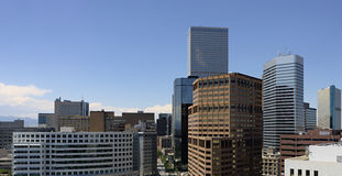 Elevated View of Denver Stock Photos