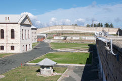 Elevated View of the Fremantle Prison Stock Image