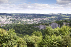 Elevated view of Matlock Royalty Free Stock Photography