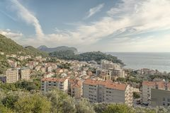 Montenegro Petrovac City View Royalty Free Stock Photography