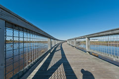 Elevated walkway Royalty Free Stock Photography