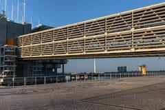 Elevated Walkway In Lisbon Oceanarium, Portugal Stock Photo