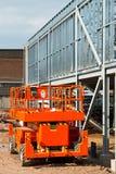 Elevated work platform Royalty Free Stock Image
