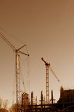 The elevating crane Royalty Free Stock Photography