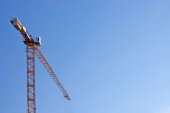The elevating crane Royalty Free Stock Images