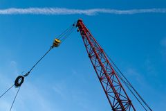 The elevating crane Royalty Free Stock Image