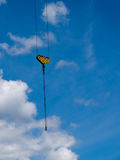 Elevating crane. The elevating crane and blue sky Royalty Free Stock Photo