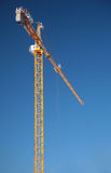 Elevating crane Royalty Free Stock Photo