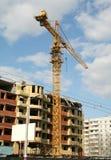 Elevating crane Stock Photography