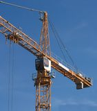 Elevating crane Stock Photo