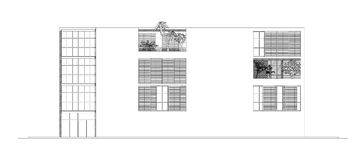 Elevation of Modern Building Stock Photos