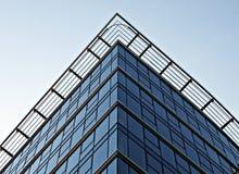 Elevation. Modern facade, building, glass facade, office, modern office,warsaw, poland, office building,the windows of the facade royalty free stock images
