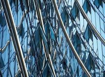 Elevation. Modern facade, building, glass facade, office, modern office,warsaw, poland, office building,the windows of the facade stock photos