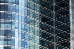 Elevation. Modern facade, building, glass facade, office, modern office,warsaw, poland, office building,the windows of the facade stock photography